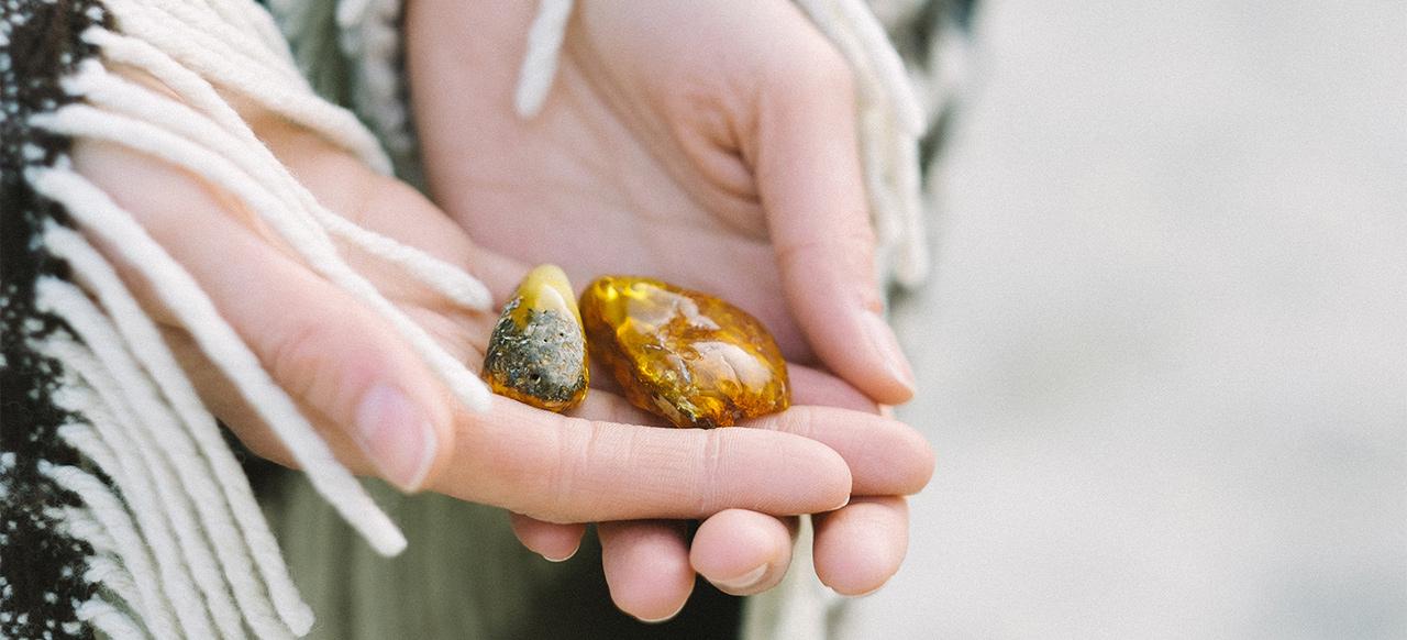 Baltic Ambery Stones