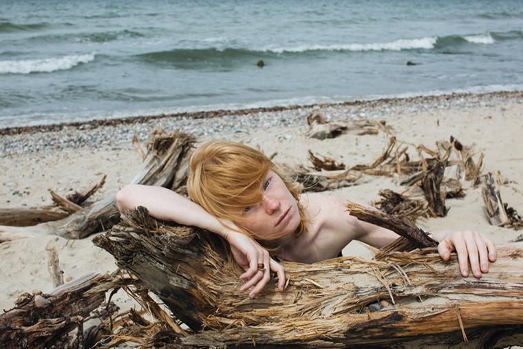 Lucy Zharikova Baltic Photoshoot for Ambery
