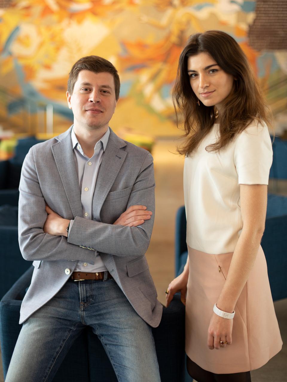 Основатели Leta – Михаил Танцура и Катя Алагич