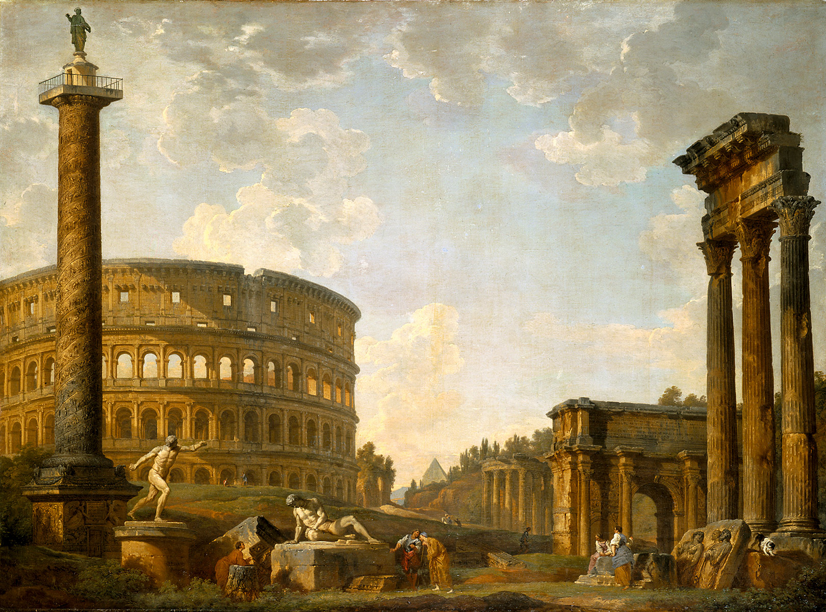 Roman Capriccio, The Colosseum and Other Monuments