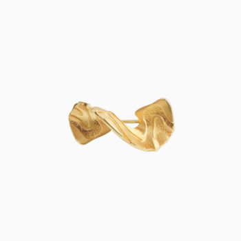 Atlas Iguazu Gold Plated Silver Brooch