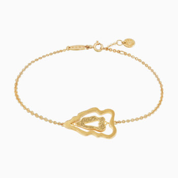 Atlas Luzon Gold Plated Silver Bracelet