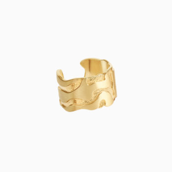 Atlas San Francisco Gold Plated Silver Ring